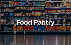 Find out more about our food pantry.