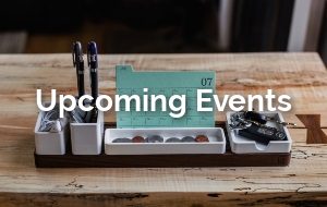 See what new events are coming up.